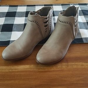 Charlotte Russe ankle boots size 7